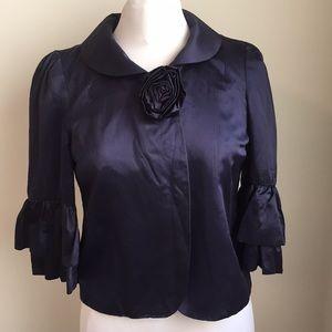 Marc Jacobs Navy Silk blend Blazer size 4
